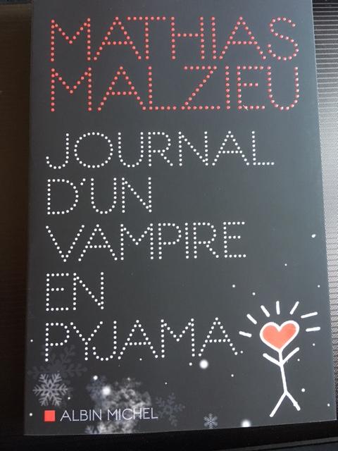 mathias malzieu journal d'un vampire en pyjama achat