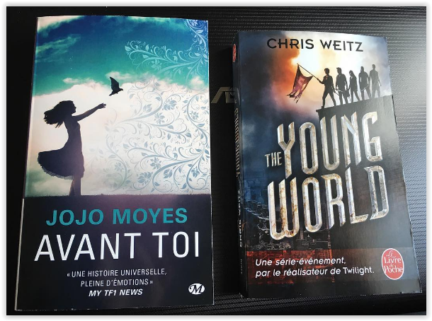 achat avant toi the young world