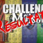 challenge des 4 maisons résultats