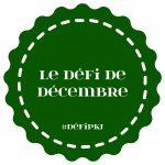 défi décembre pkj