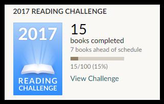 reading challenge janvier