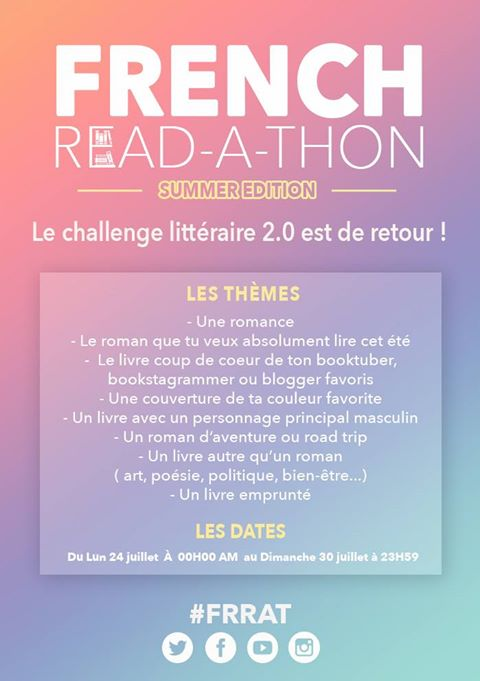 french read-a-thon thématiques
