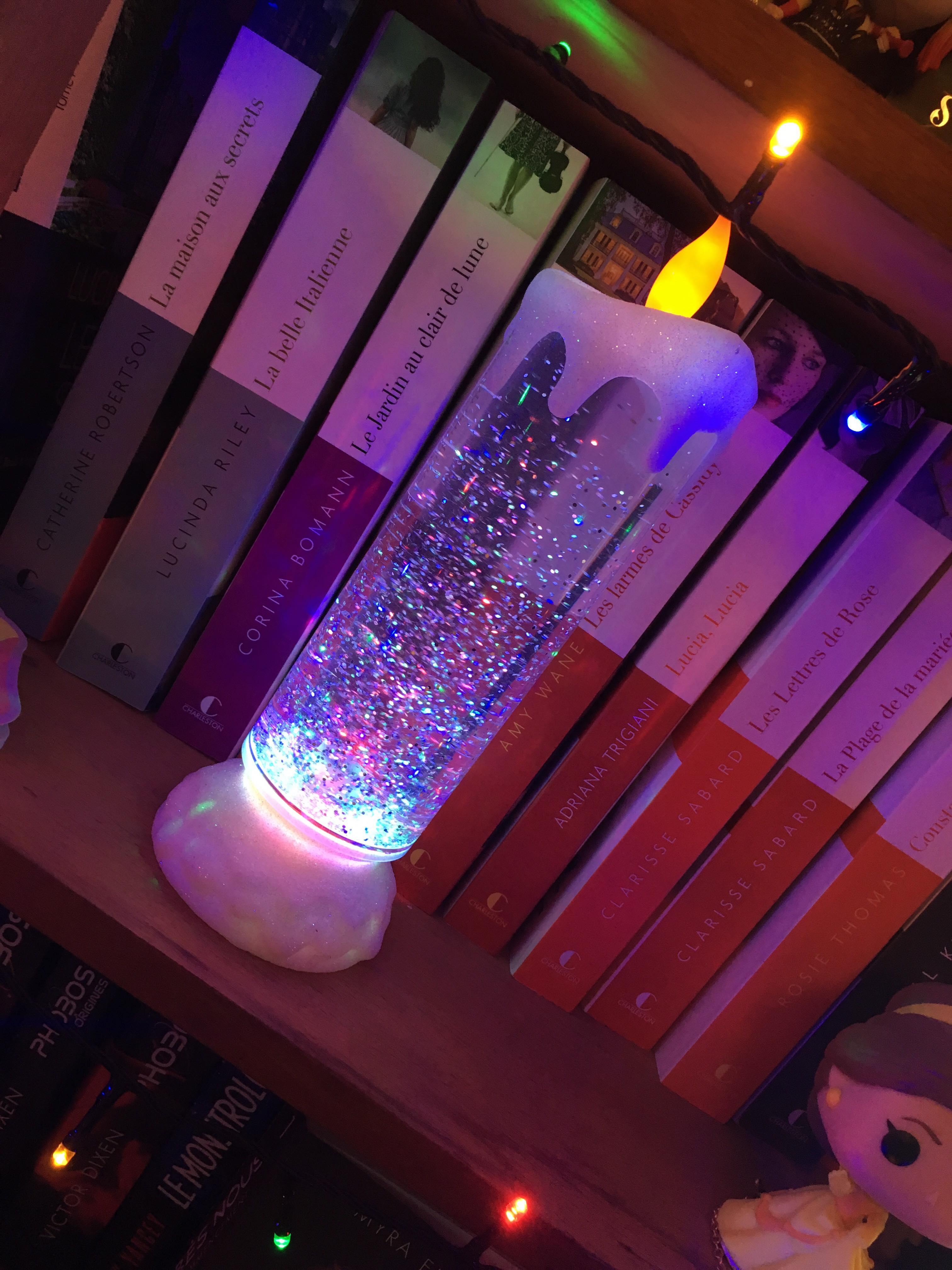 lampe bougie noël