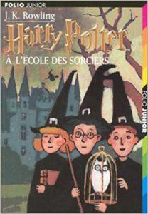 harry potter à l'école des sorciers première couverture