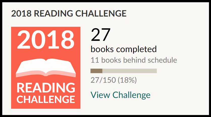 reading challenge mars 2018