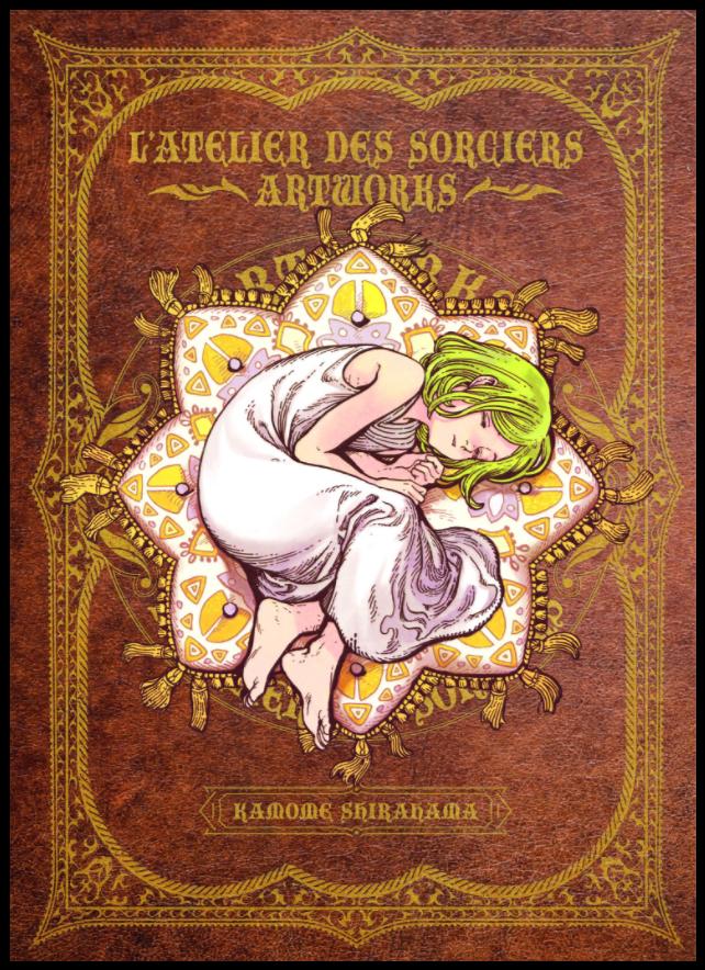 artbook l'atelier des sorciers