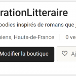 etsy vibration litteraire